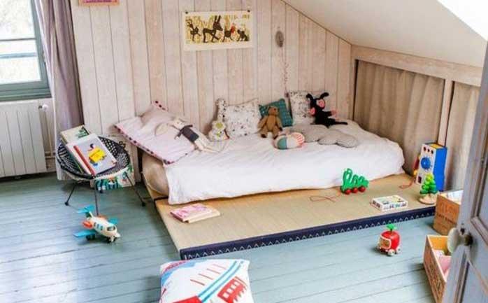 Letto Futon Bimbi : Futon per bambini arredo ecologico e materassi a vicenza