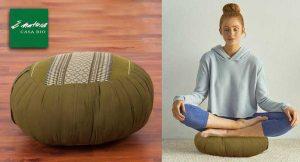 Il cuscino da meditazione ecologico