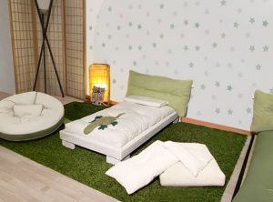letto montessori con futon