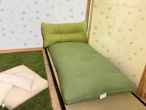 futon per bambini su tatami
