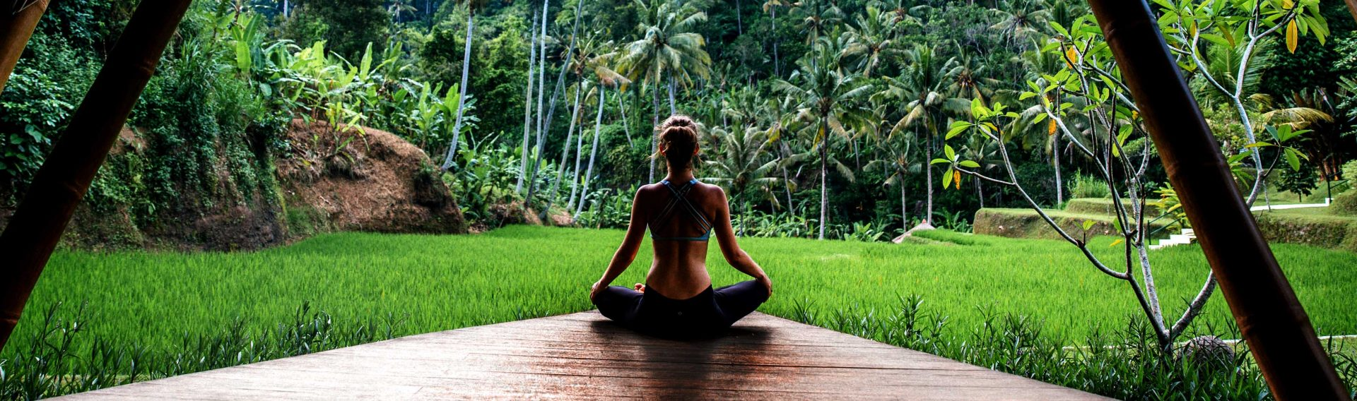 yoga all'aria aperta