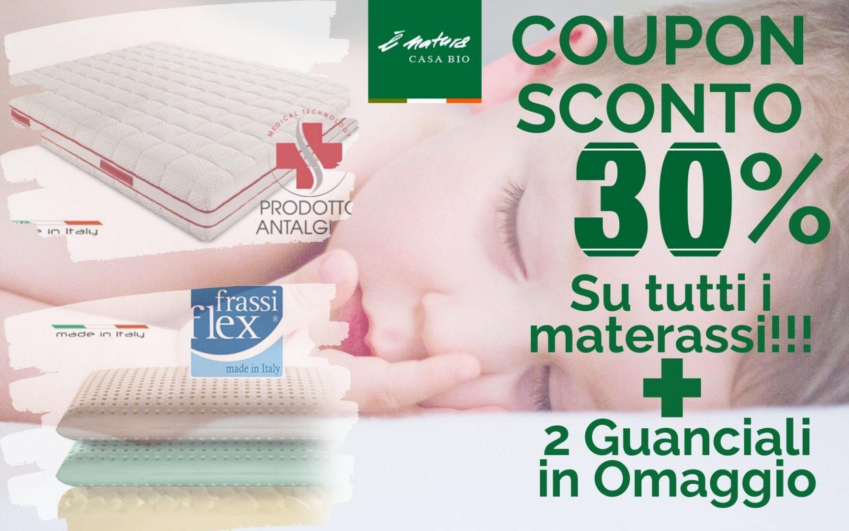 Promozioni del 30% per tutti i materassi… Cosa Aspetti!!